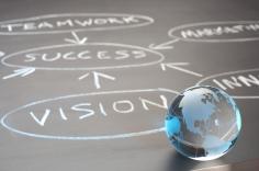 globale vision, erfolg, teamwork, Wachstum